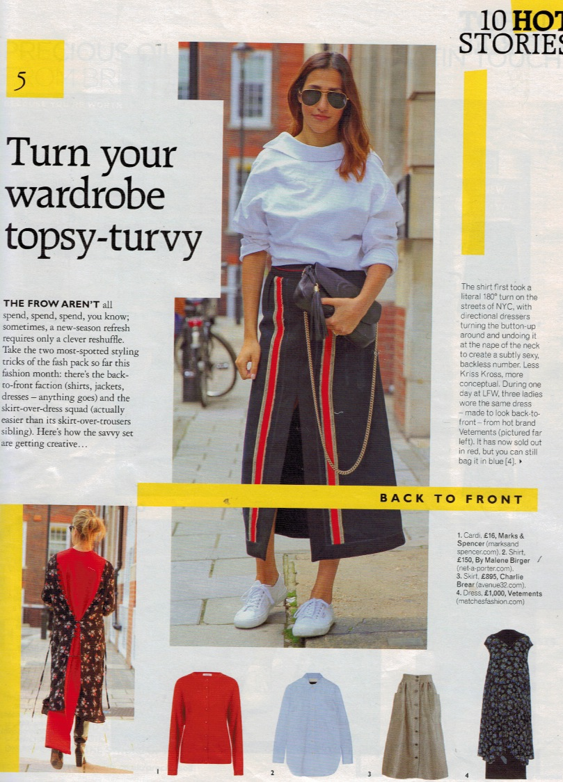 Grazia.5thOctober2015.Turn your wardrobe topsy turvy.jpeg