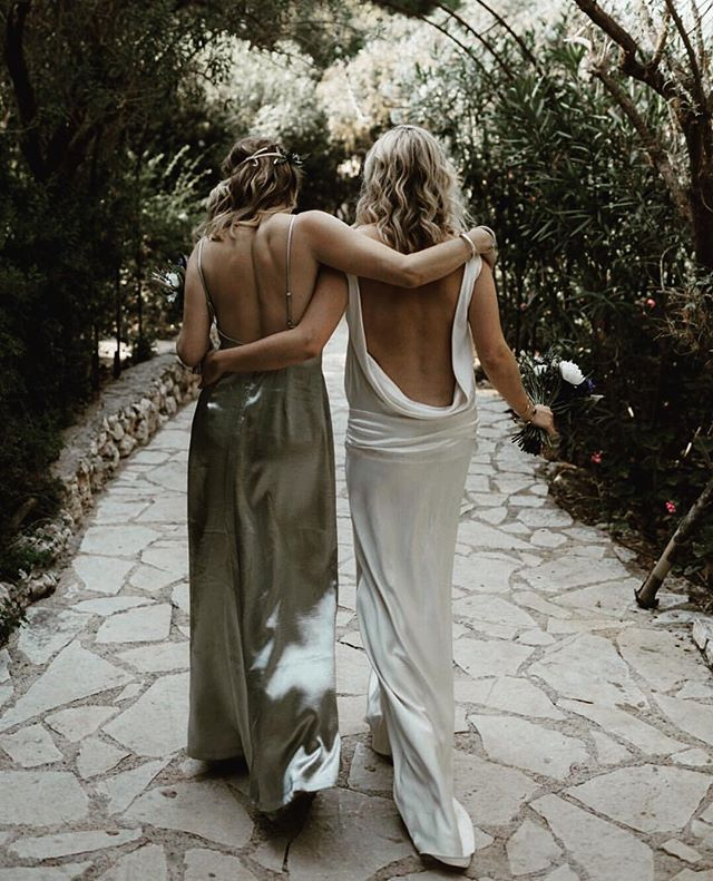 #repost via photographer @lukehayden ✨ Charlie Brear #realbride #friendship ✨
