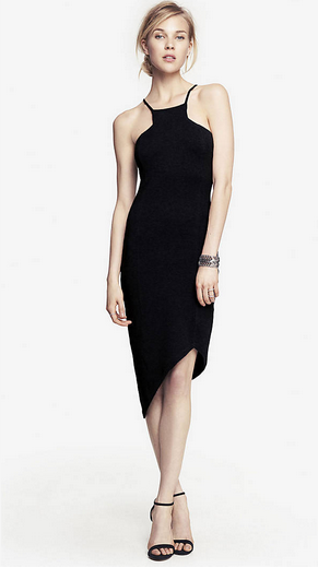 15. A simple and elegant LBD is essential and makes date night planning a lot easier on you. I adore this one from Express.  LBD | Express