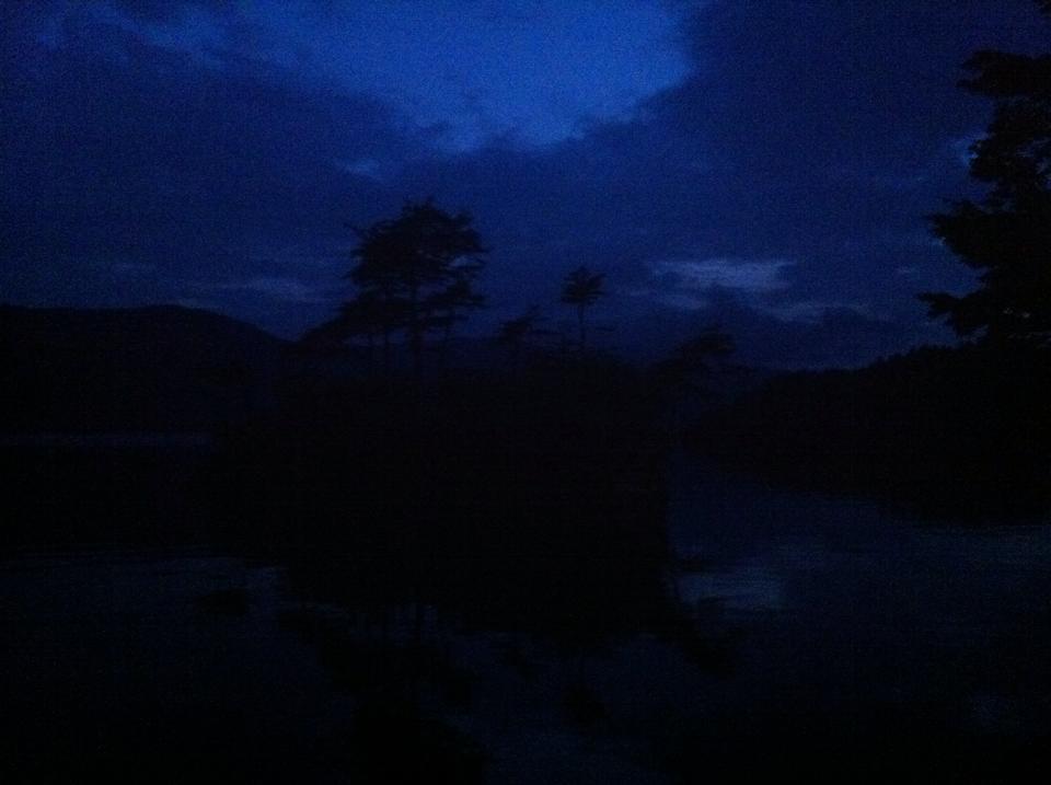Lake Towadako at Night