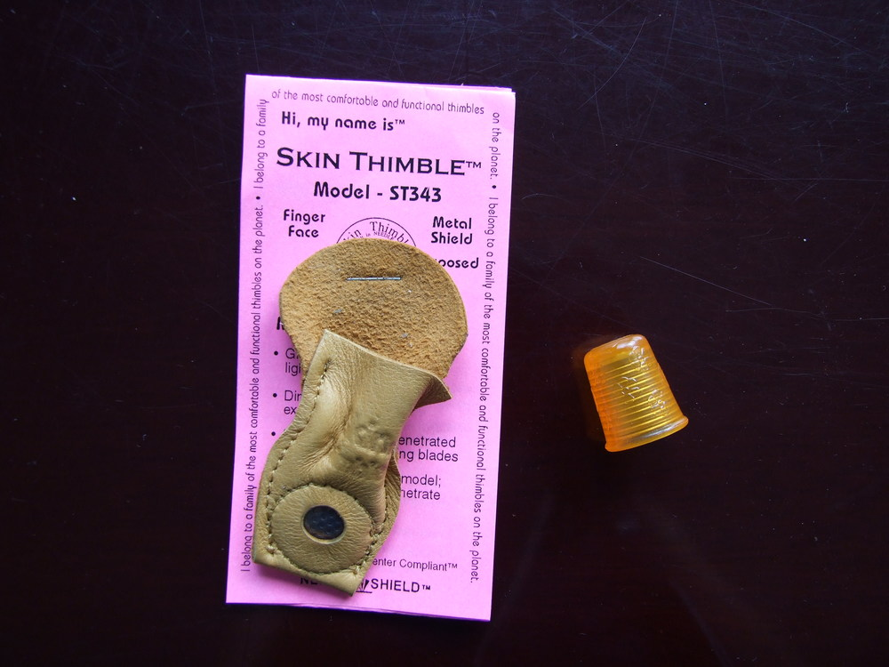 Skin Thimble and Silicone