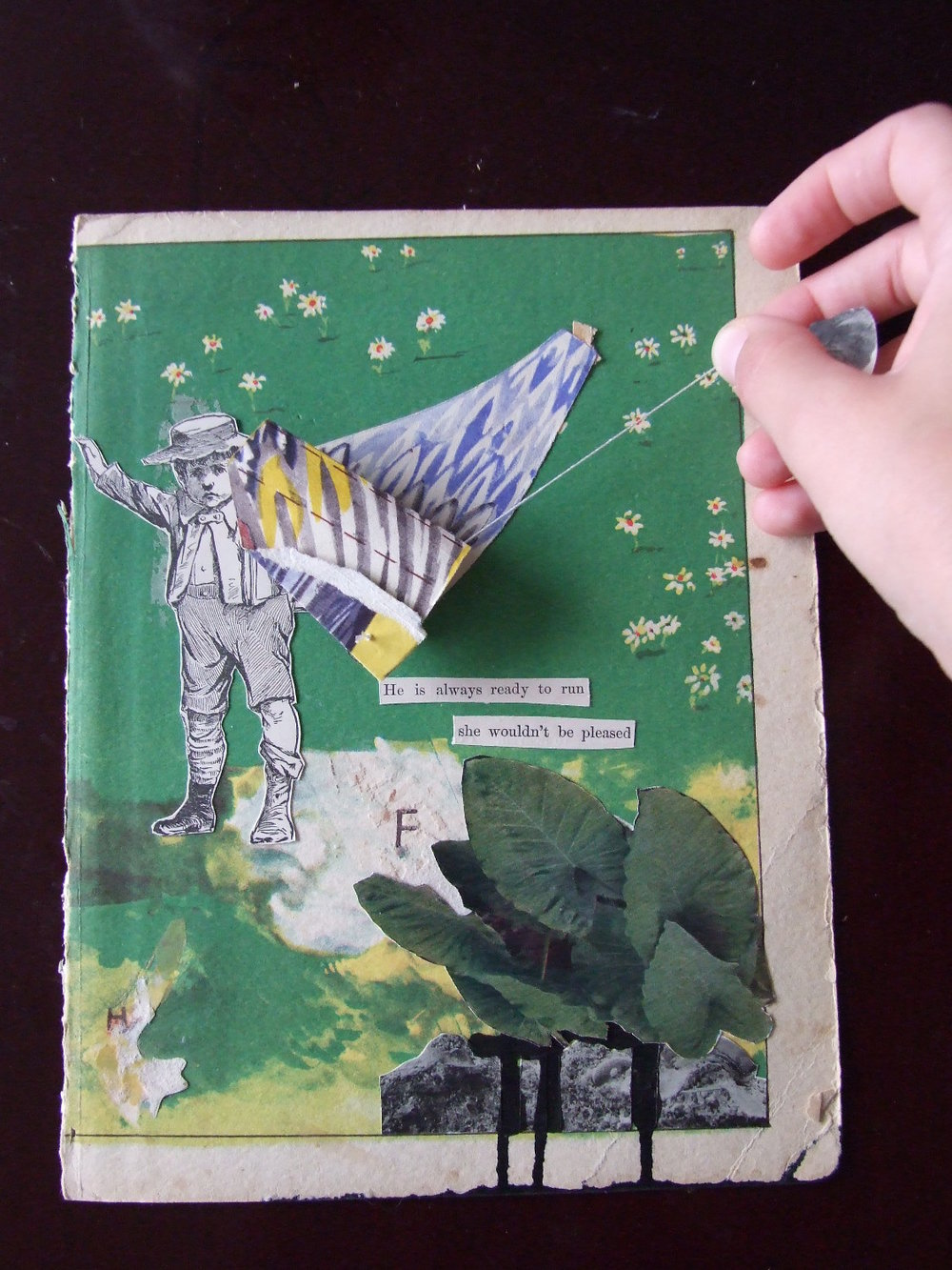 Winged Elephants  2014 Collage