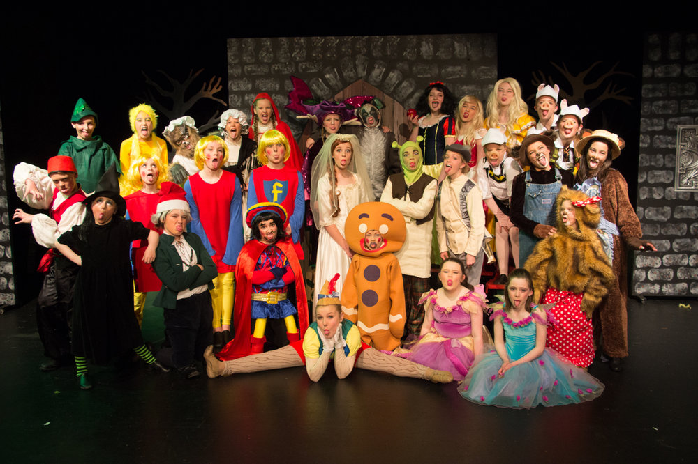 'Are we there yet?!' Junior Performance Ensemble - Shrek 2016