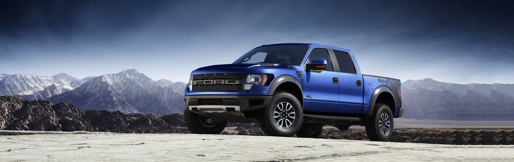 Ford Raptor Web Banner