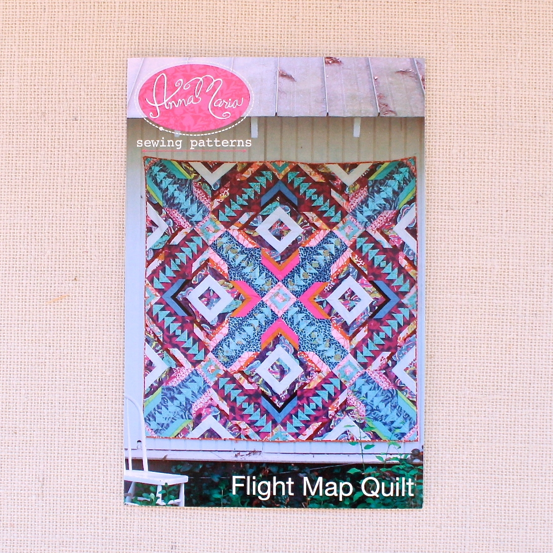 Flight Map Quilt — Craft South on
