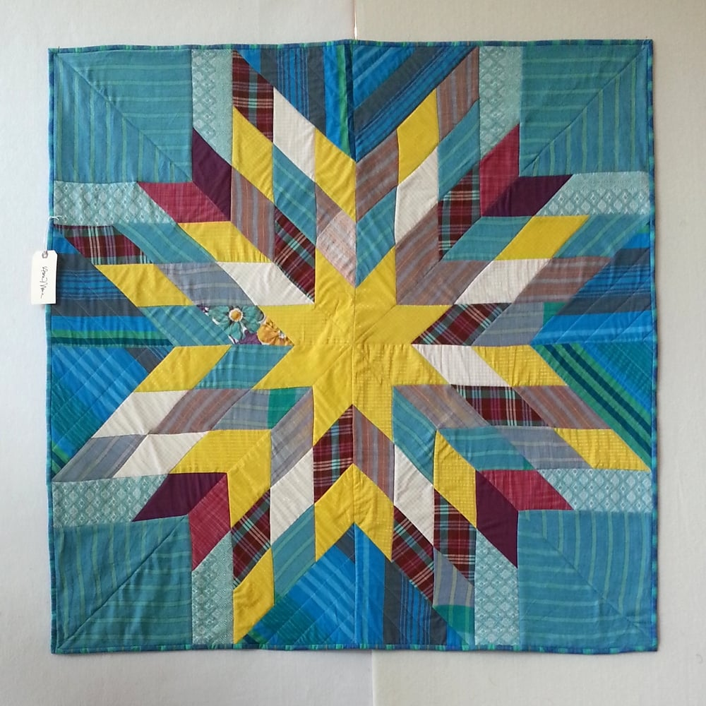 Lone star quilt by anna maria horner craft south for Space shuttle quilt