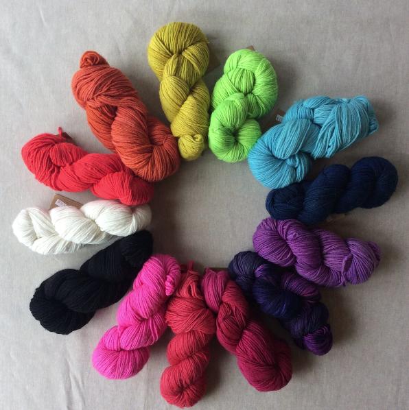 Yarn + Fiber