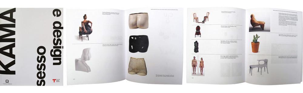 KAMA SESSO E DESIGN, edited by Silvana Annicchiarico for Triennale Design Museum, Milan, 2012