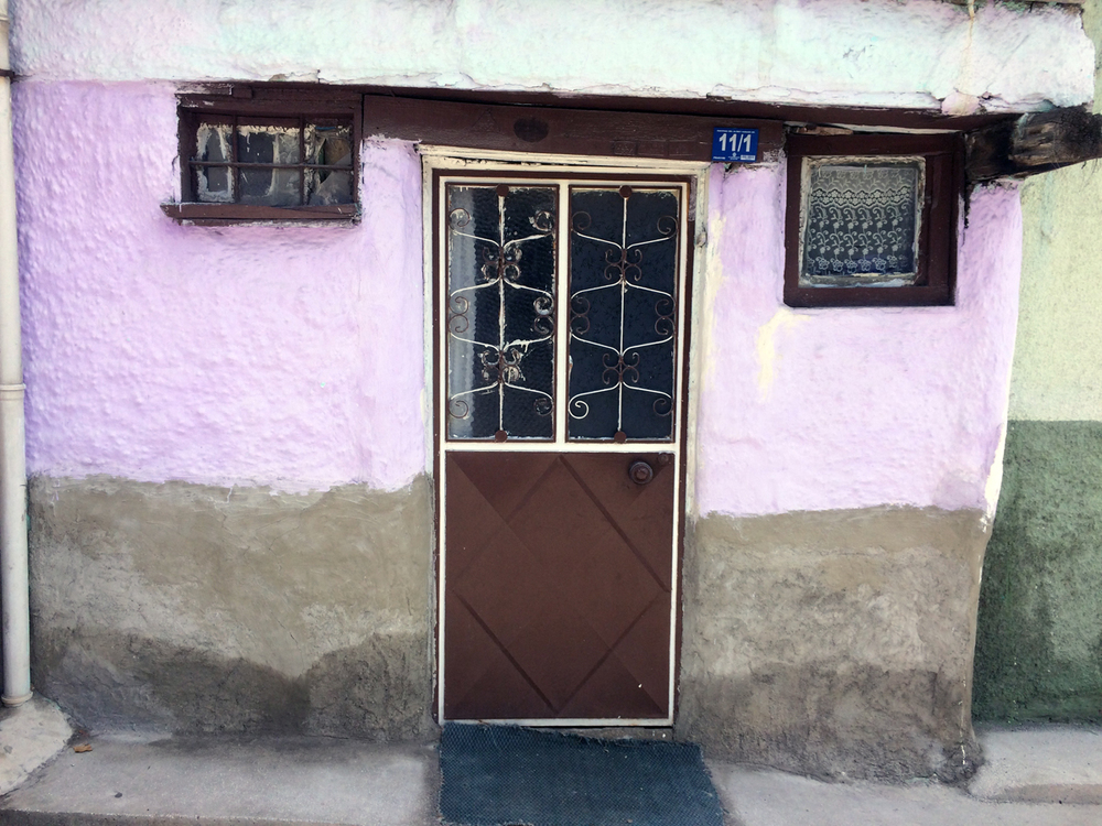 A typical house in Afyon, Turkey