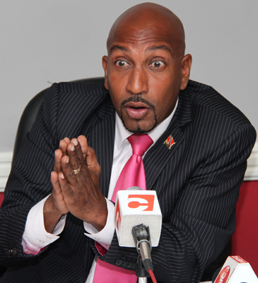 With Persad-Bissessar's suggested amendments, we'd have to wait three years to be rid of MP's like this guy here. Photo courtesy Trinidad Guardian website.