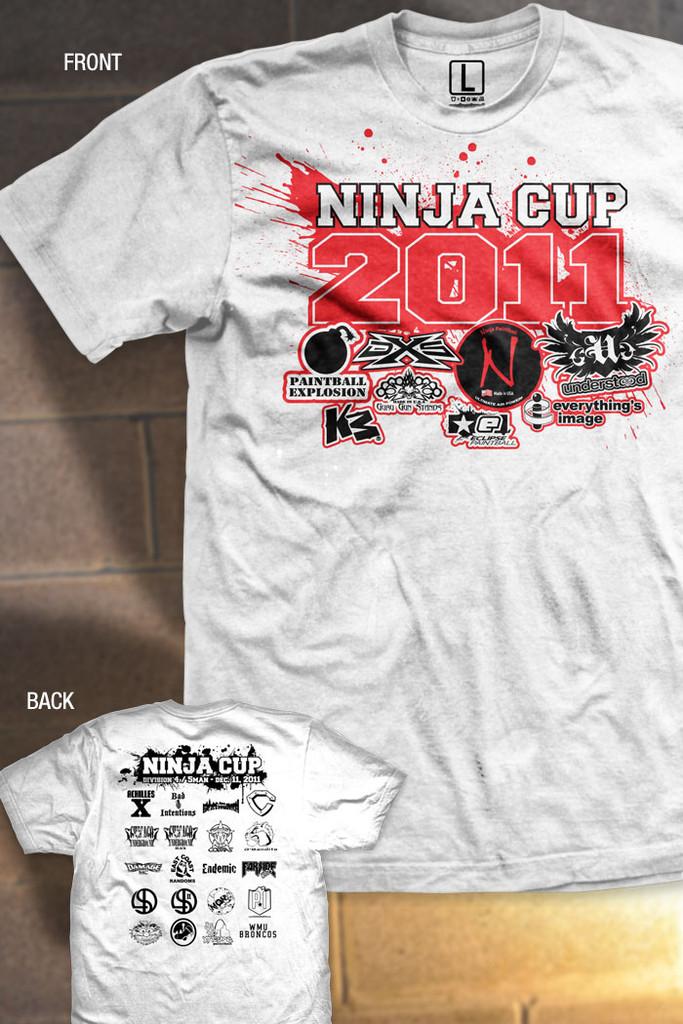 Ninja Cup 2011 - Event Shirt