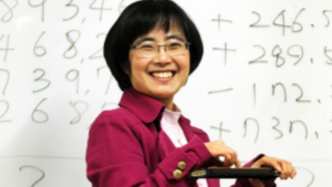 Our Teacher - Master Jeonghee Lee is the world's only 11th degree abacus master, the highest rank attained by anyone to date. Having already taught thousands of students in South Korea, she is eager to grow the art of Jusan in the United States.Learn More