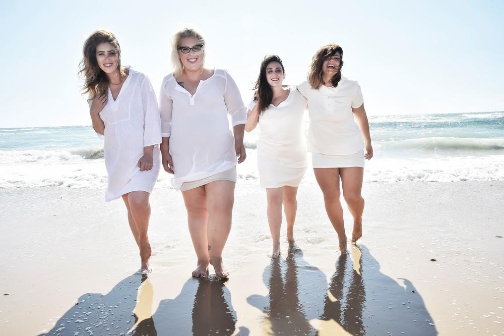 יפה בכל צורה, מימין לשמאל: פבלינה ברגן, דנה מליק, גאלה רחמילביץ' (אני), לין לאור. צילום איתן טל