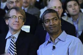 John Doerr on the left.