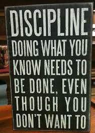 Discipline Notice