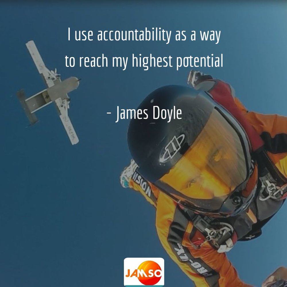 Personal accountability by James Doyle