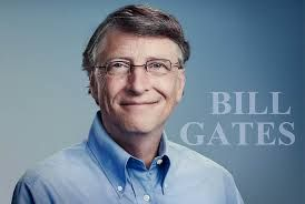 Full of positive thoughts: Bill Gates