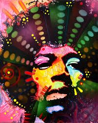 The legend Jimi Hendrix king of cultural influence