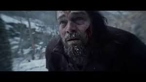 Hugh Glass played by Leonardo De Caprio