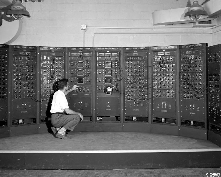 The early phase of computer power