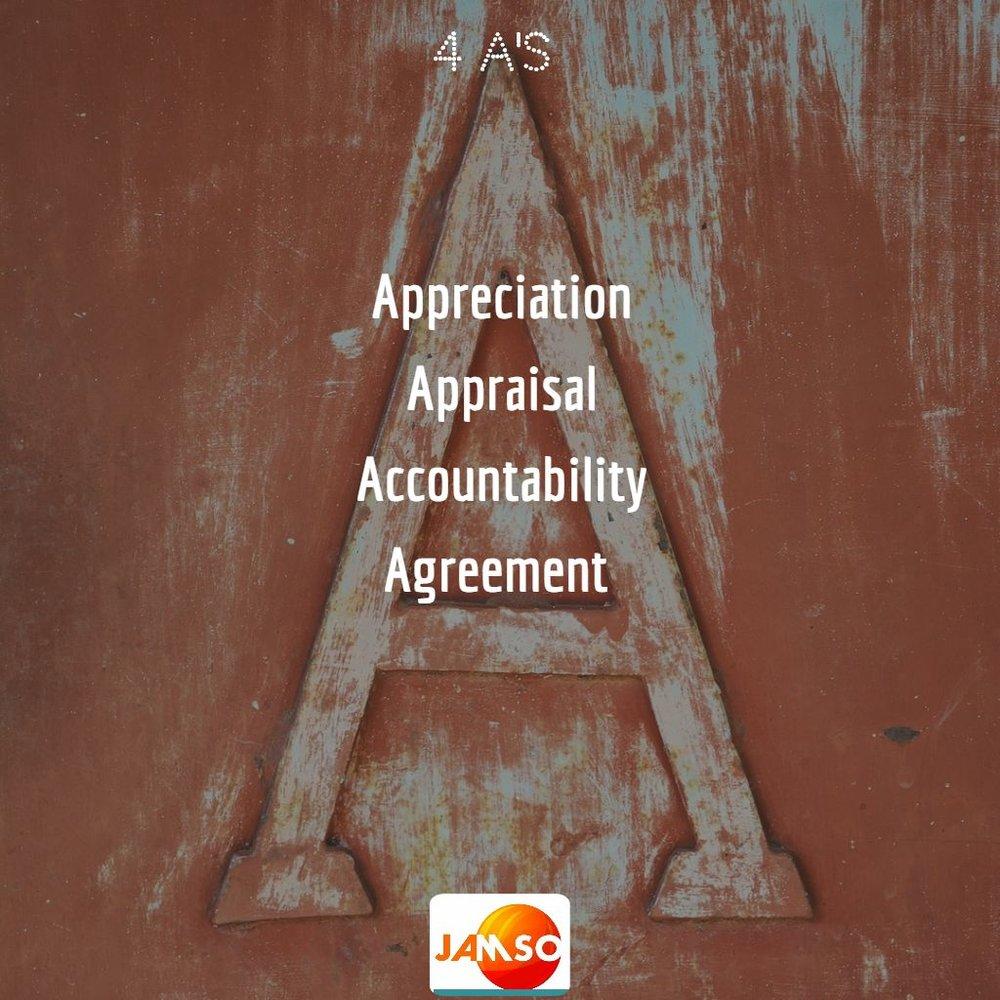 4 key parts for positive management