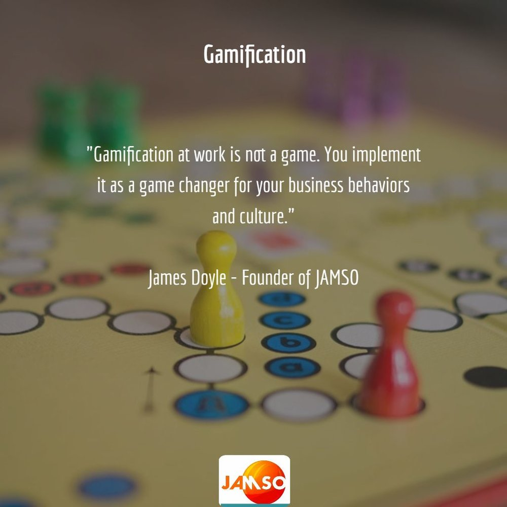 One of the key messages left to attendees in understanding gamification for business.