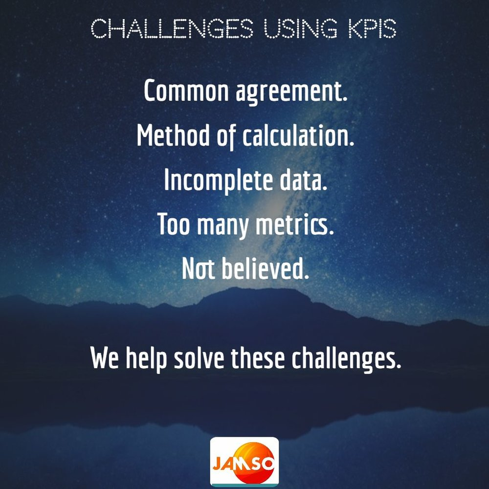 Solve these challenges for your business by booking JAMSO today