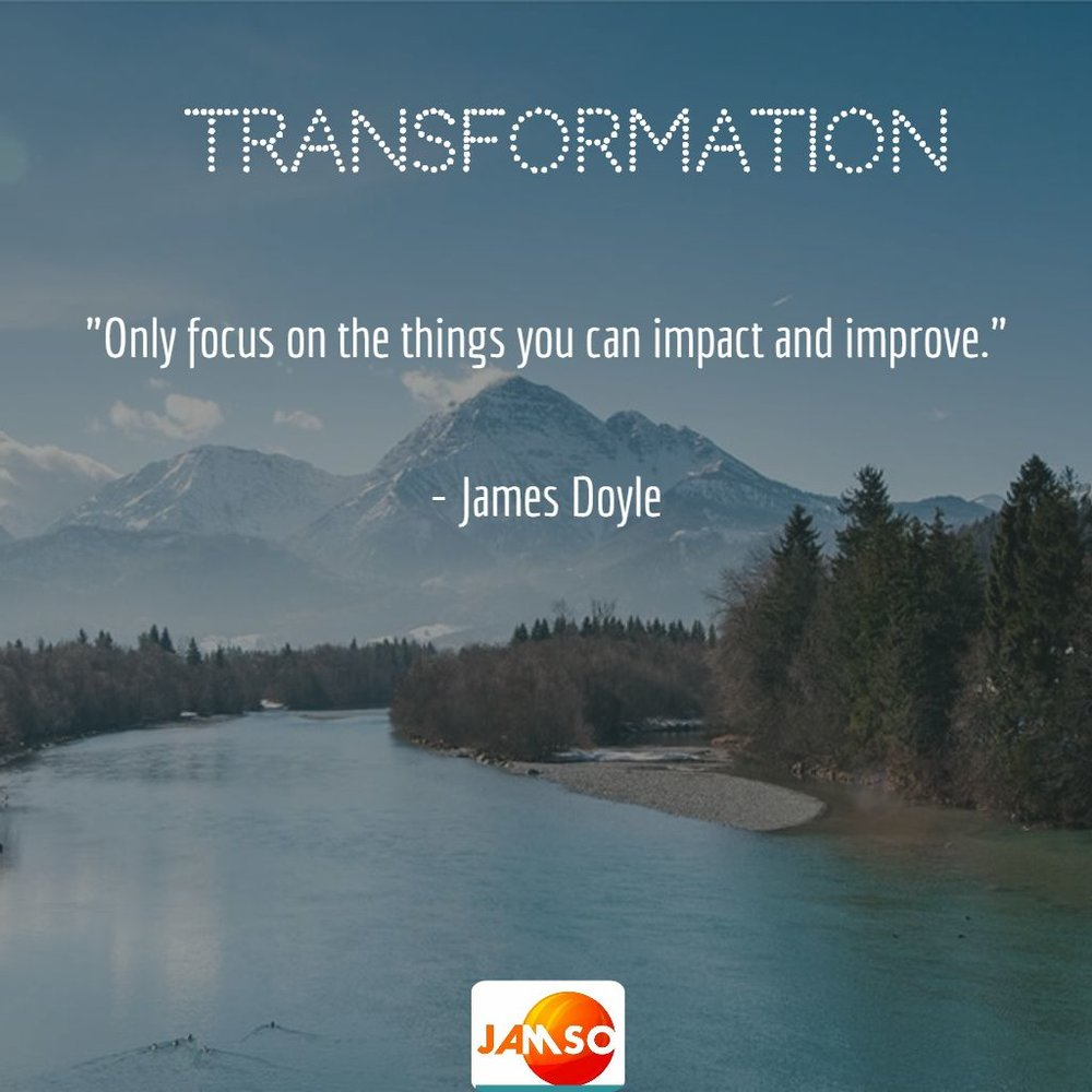 Quote about transformation perspectives