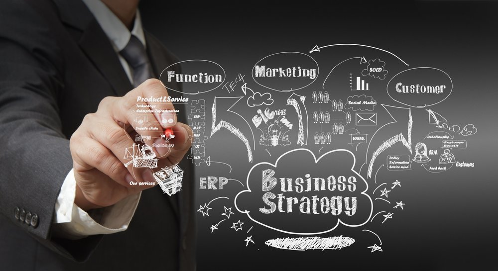 Business strategy is made from many measures