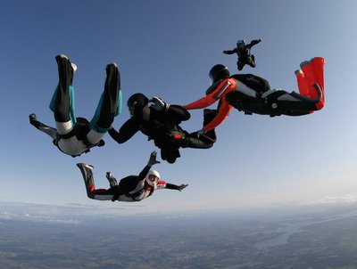 Building a Formation skydive