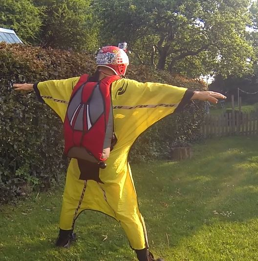 My training wingsuit