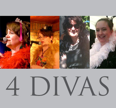 The 4 Divas   Part of: Wonder Of Words
