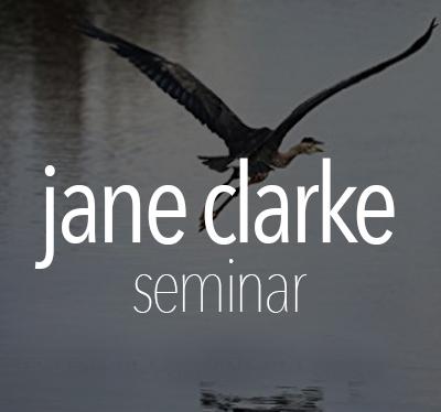 Seminar Jane Clarke: 4pm