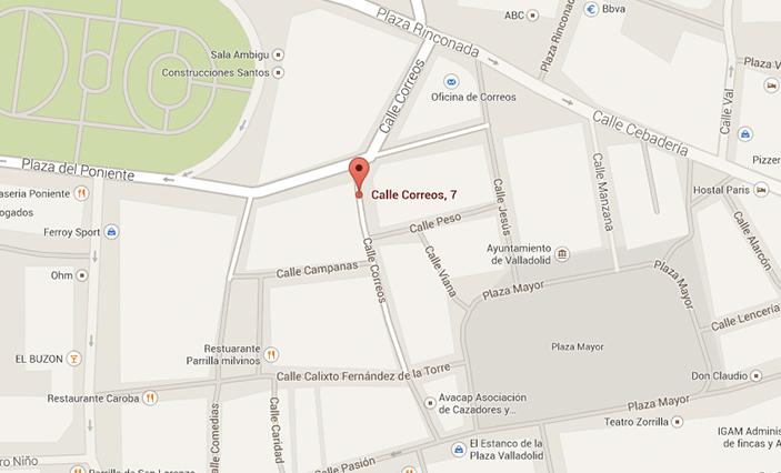 Calle Correos 7, 47001 Valladolid