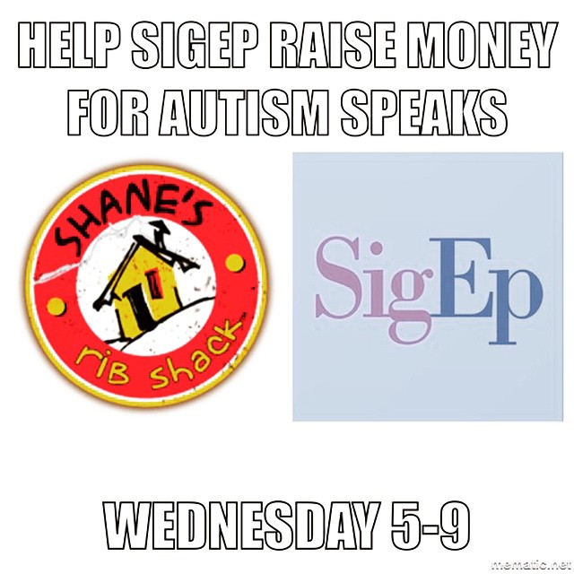 Make sure you come out to Shane's tomorrow to help raise money for Autism Speaks ! #VDBL #JBBXiManLIUB