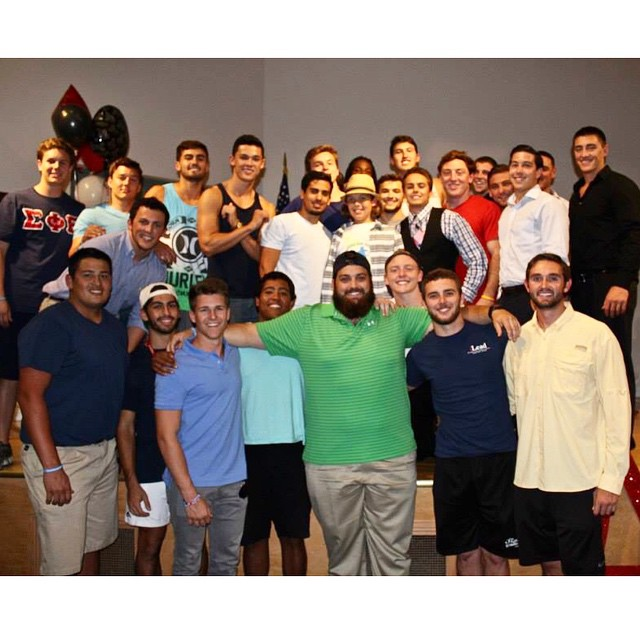 Thank you @axidfau for a great week to raise money and awareness for a great cause Autism Speaks. We will continue to spread this light. Here is our chapter with Damien #VDBL  #LIUB