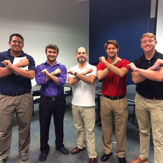 Here a is a shoutout to our very own SigEp alumni Dave Stollman for putting on a great recruitment workshop.