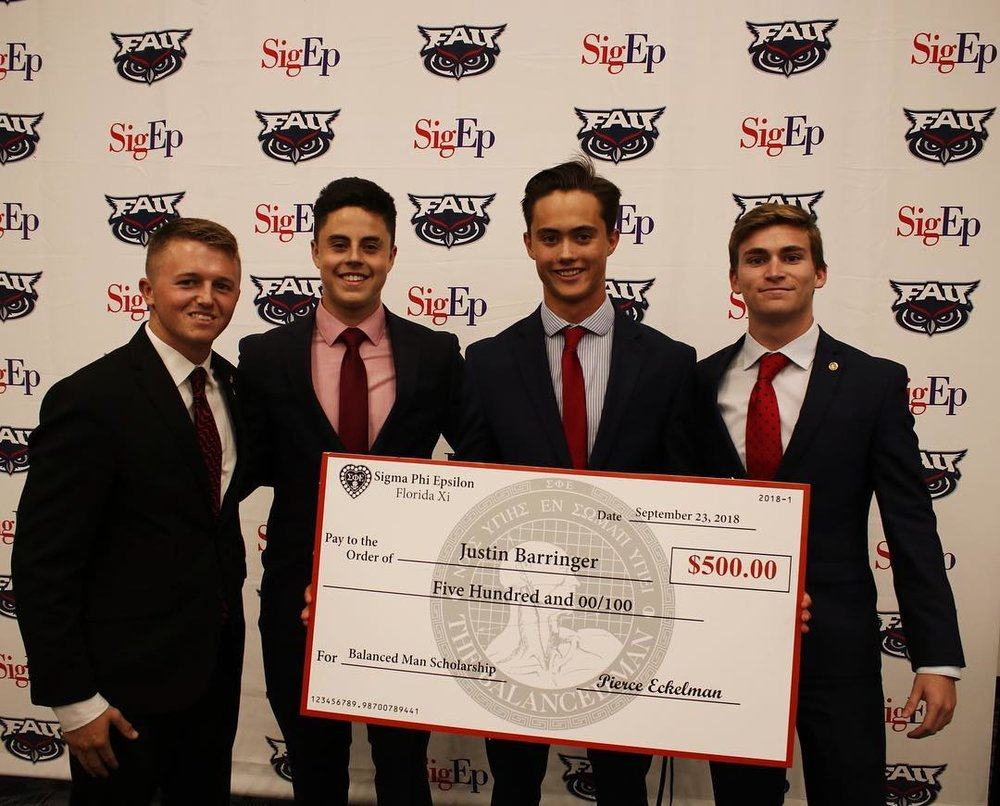 2018 Balanced Man Scholorship Banquet