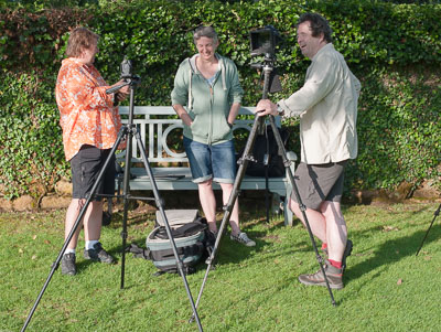 Yes, tripods are fun really  photo Wilf James