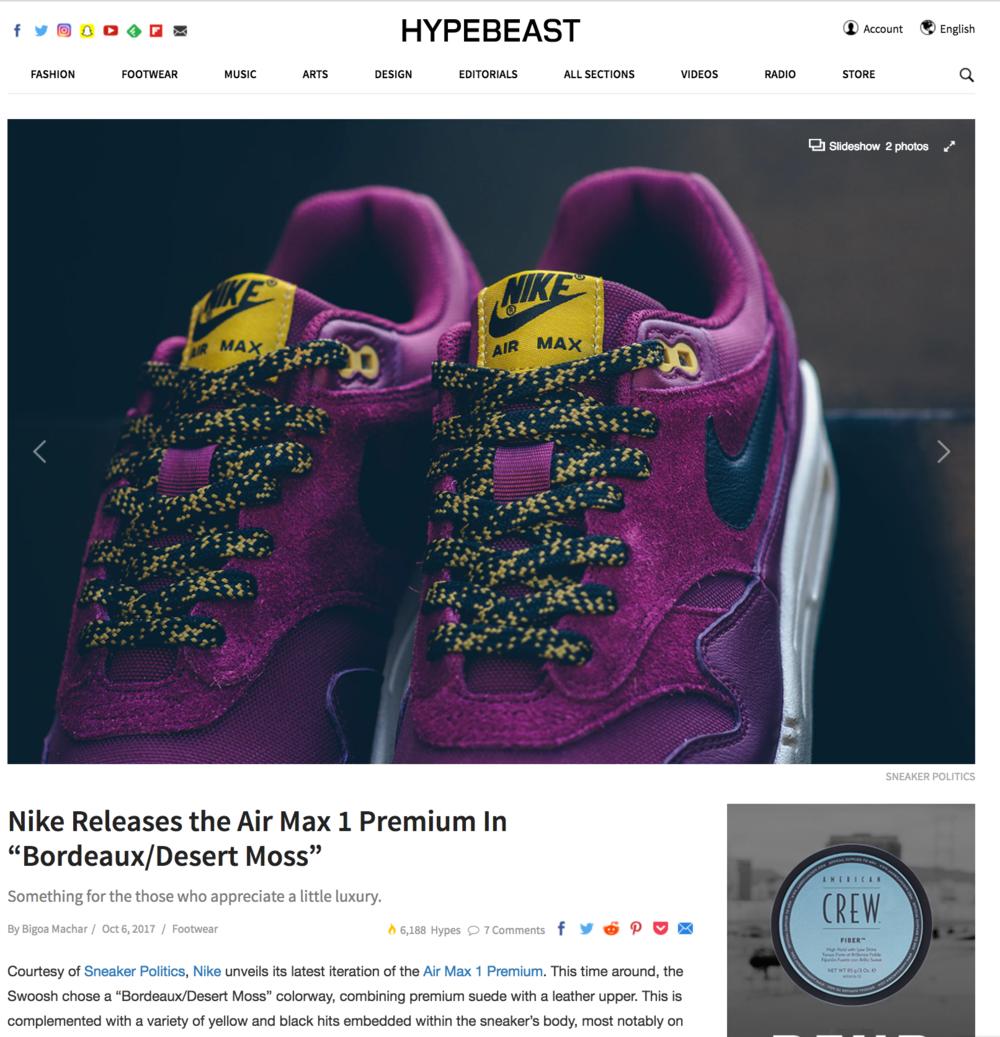 204a3cb4da Sneaker Materials Portfolio — Meredith Hoffman