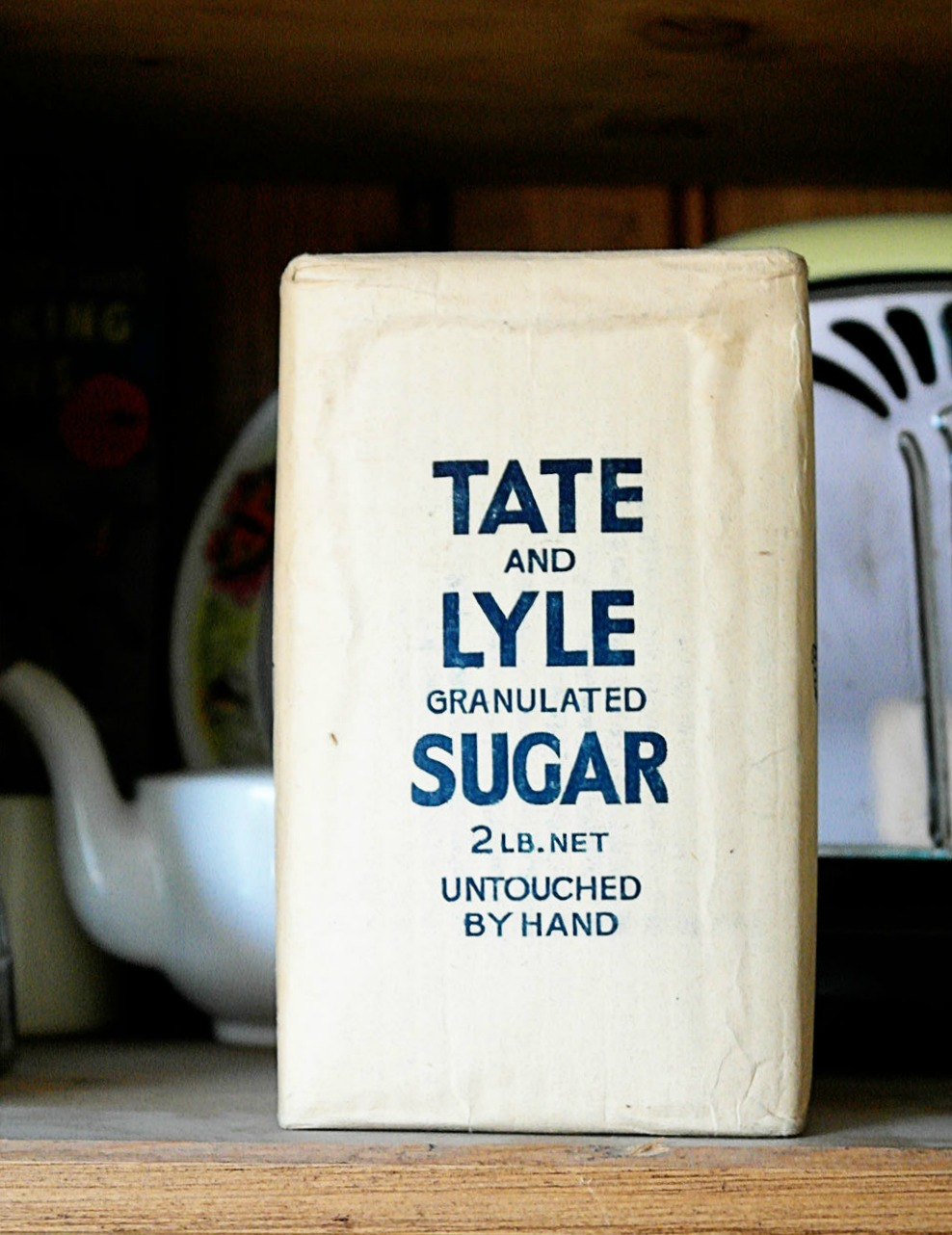 Tate and Lyle vintage sugar