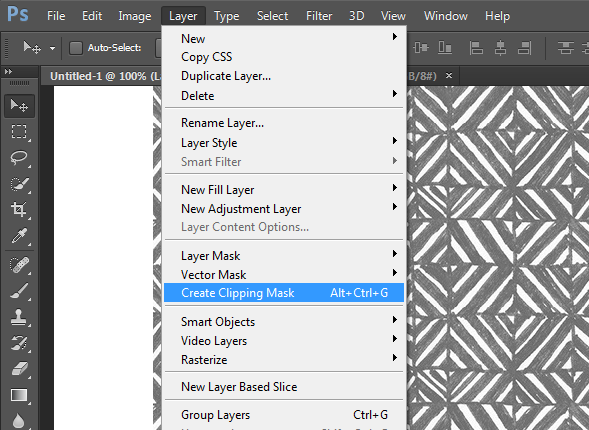 Basic Photoshop: How to fill text with an image in #Photoshop - a step by step walkthrough