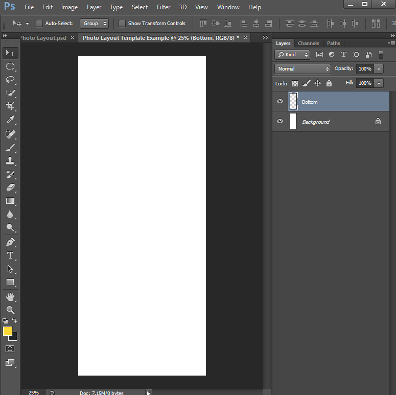 How to make Photo Layout Templates in Photoshop