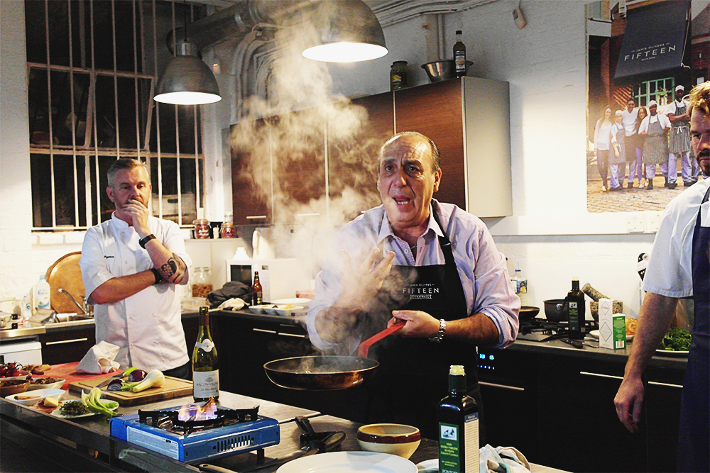 A Pheasant Masterclass at Jamie Oliver HQ, with Gennaro Contaldo, Jon Rotheram and Andy Appleton