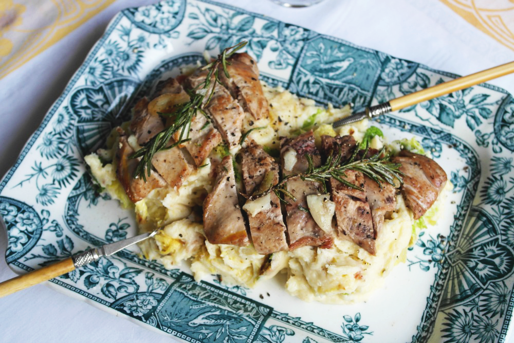 Pan-fried Pheasant with Colcannon for Two - Recipe