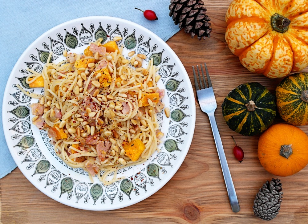 Bacon and Pumpkin Pasta - Jamie Oliver Recipe