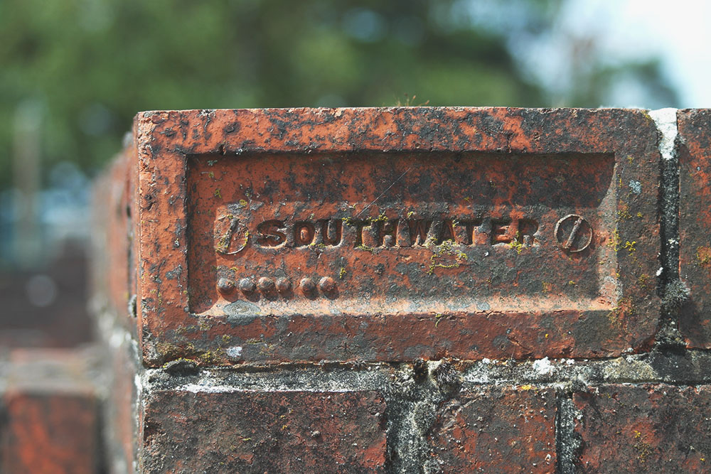 Railway bridge brick