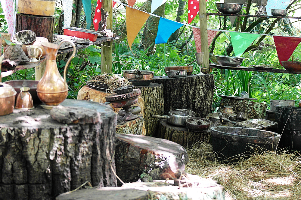 The kitchen, Lizzie's Way, Camp Bestival