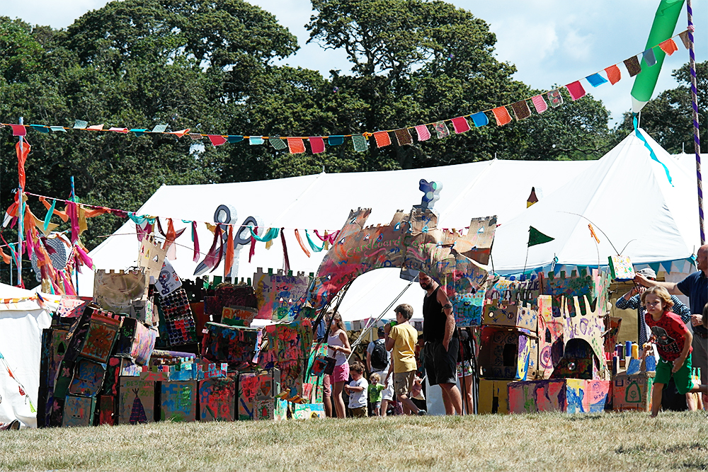Cardboard City, Camp Bestival