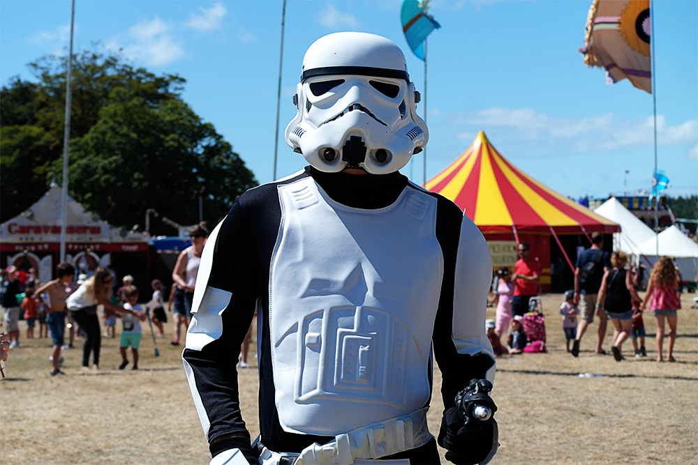Storm Trooper at Camp Bestival
